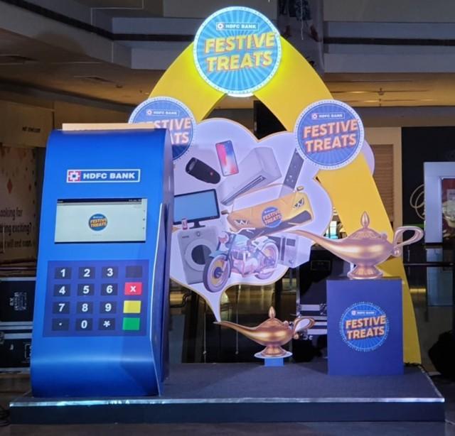 HDFC Festive Treats, Event Technology, Event Management, Entertainment Farm